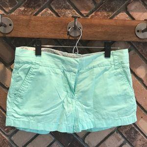 Mint JCrew Shorts